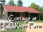 The Cottage at Elk River Farm at Ruffed Grouse Lodge Phillips Wisconsin, Northern Wisconsin's ruffed ruffled grouse resort